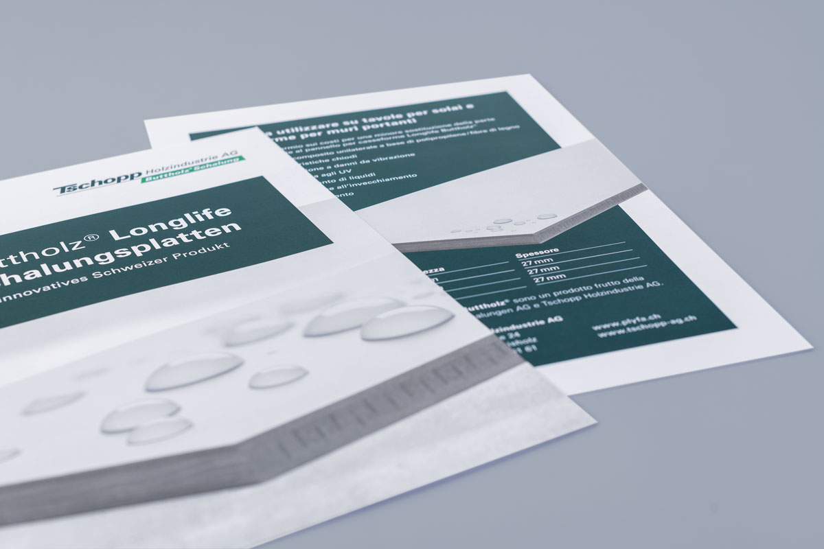 Produktbroschüre Longlife Schalungsplatte